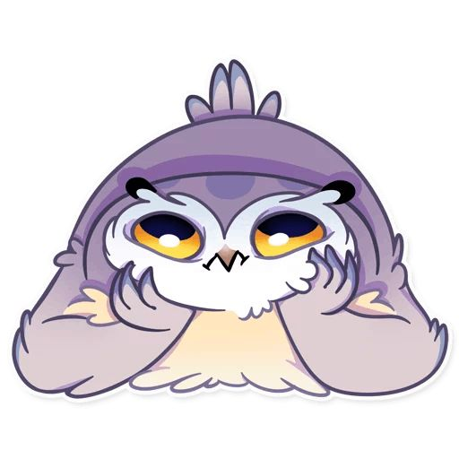 Sticker «Phil The Owl-9»