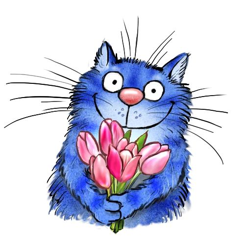 Sticker «Blue Cats-2»