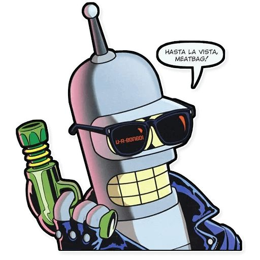 Sticker «Futurama-12»