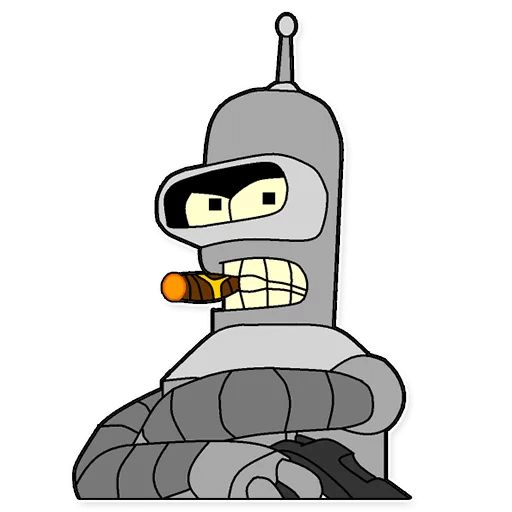 Sticker «Futurama-2»
