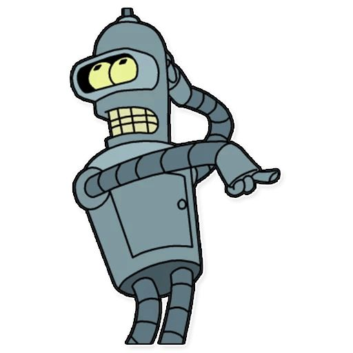 Sticker «Futurama-3»