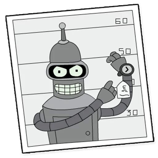 Sticker «Futurama-5»