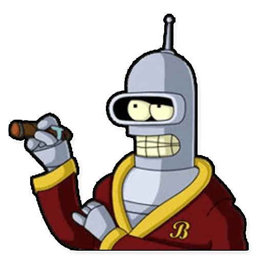 Sticker «Futurama-9»